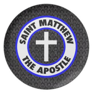 Saint Matthew the Apostle Plates