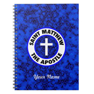 Saint Matthew the Apostle Spiral Note Books