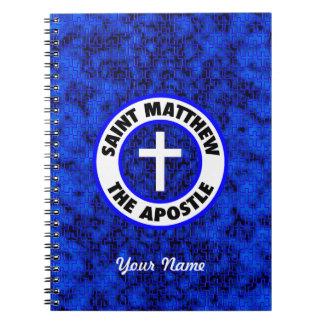 Saint Matthew the Apostle Spiral Note Books