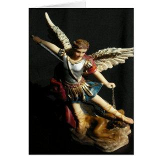 Saint Michael Angel Prayer card