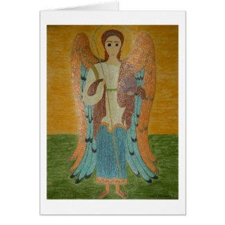 Saint Michael Card