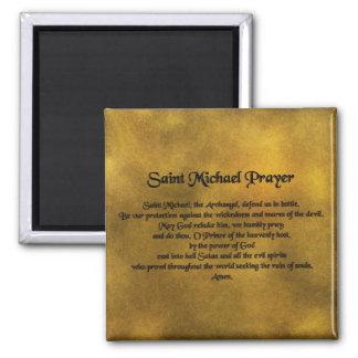 Saint Michael Magnet Magnets