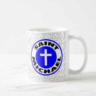Saint Michael Basic White Mug