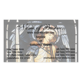 Saint Michael (stained glass) by Burne Jones Business Card