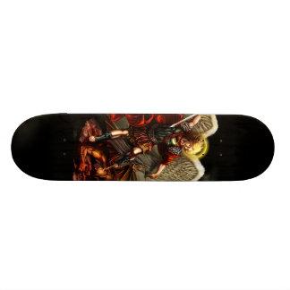 Saint Michael the Archangel Skate Board