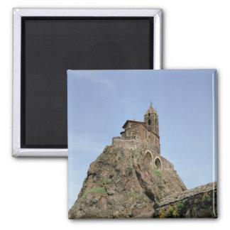 Saint Michel d'Aiguilhe (photo) Square Magnet