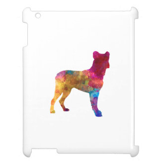 Saint Miguel Cattle Dog in watercolor Case For The iPad 2 3 4