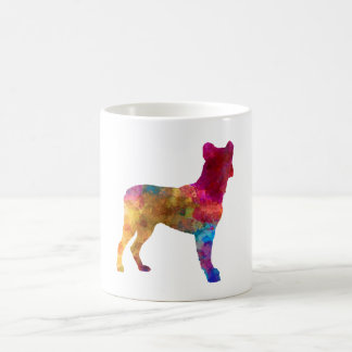 Saint Miguel Cattle Dog in watercolor Coffee Mug