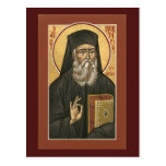 Saint Nektarios Prayer Card Postcard