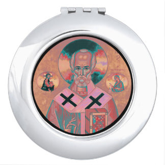 Saint Nicholas Icon Vanity Mirrors