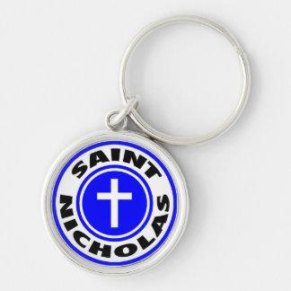 Saint Nicholas Keychain