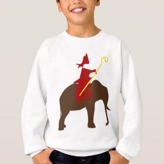 Saint Nicholas on an elephant Sweatshirt
