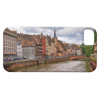 Saint-Nicolas dock in Strasbourg, France Case For The iPhone 5