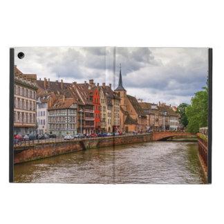 Saint-Nicolas dock in Strasbourg, France Cover For iPad Air