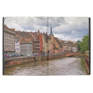 "Saint-Nicolas dock in Strasbourg, France iPad Pro 12.9"" Case"