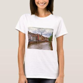 Saint-Nicolas dock in Strasbourg, France T-Shirt