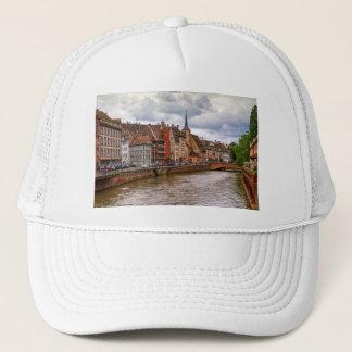 Saint-Nicolas dock in Strasbourg, France Trucker Hat