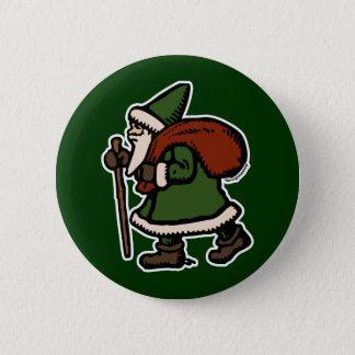 Saint Nicolas (Green Robes) 6 Cm Round Badge