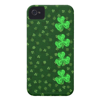 Saint Paddy's Shamrocks Too iPhone 4/4s Case