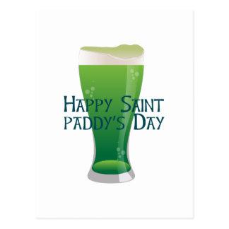 Saint Paddys Day Postcard