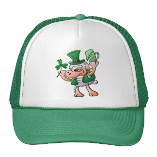 Saint Paddy's Day Sheep Drinking Beer Hat
