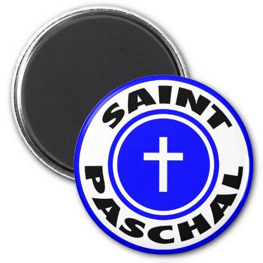 Saint Paschal Fridge Magnet