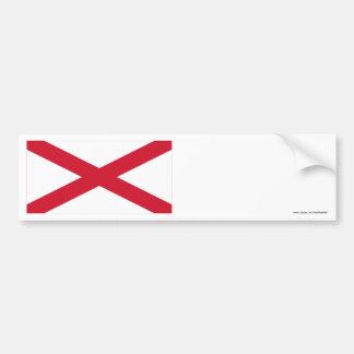 Saint Patrick Flag Ireland Bumper Sticker