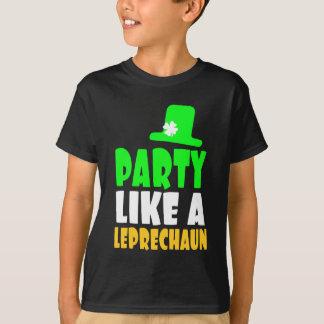 Saint Patrick Leprechaun Party T-Shirt
