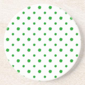 Saint Patrick Motif Pattern Coaster