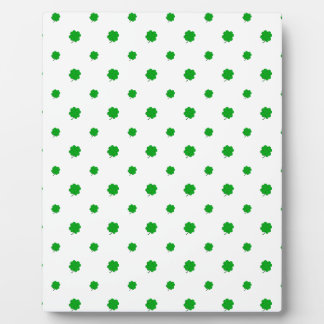 Saint Patrick Motif Pattern Display Plaques