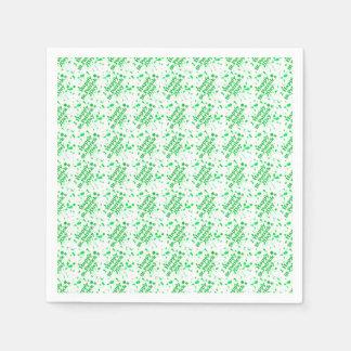 Saint Patrick Motif Pattern Disposable Napkins