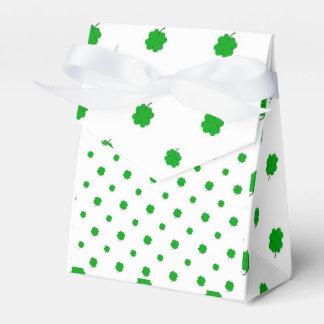 Saint Patrick Motif Pattern Favour Box