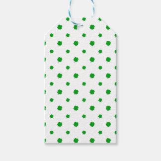 Saint Patrick Motif Pattern Gift Tags