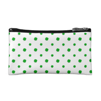 Saint Patrick Motif Pattern Makeup Bag
