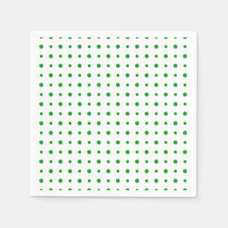 Saint Patrick Motif Pattern Paper Napkins