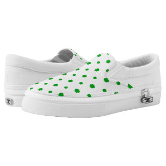 Saint Patrick Motif Pattern Slip-On Shoes