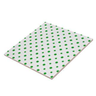 Saint Patrick Motif Pattern Tile