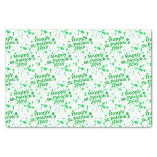 Saint Patrick Motif Pattern Tissue Paper