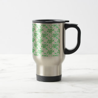 Saint Patrick Motif Pattern Travel Mug