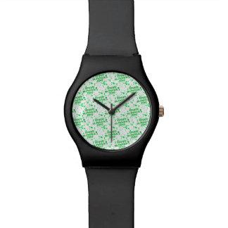 Saint Patrick Motif Pattern Watch
