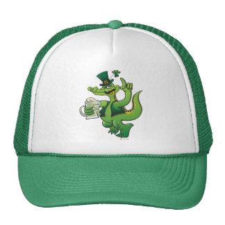 Saint Patrick s Day Crocodile Drinking Beer Hats