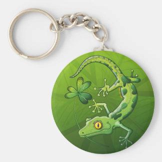 Saint Patrick s Day Gecko Keychains