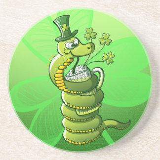 Saint Patrick s Day Snake Coasters