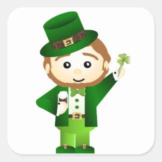 Saint Patrick' S Day Square Sticker