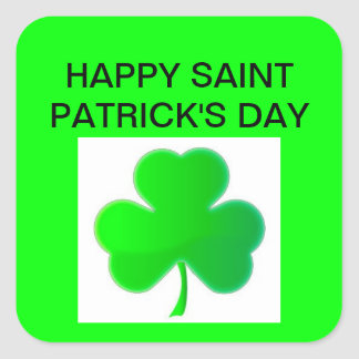 saint Patrick s day stickers