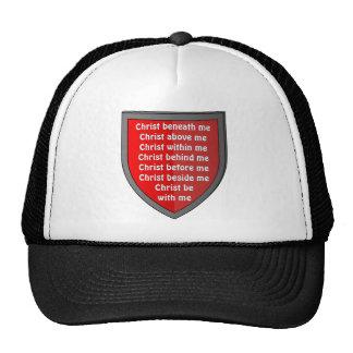 Saint Patrick's breastplate prayer hat