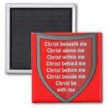 Saint Patrick's breastplate prayer magnet