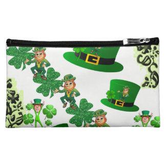 Saint Patrick's Day Baggettes Makeup Bag