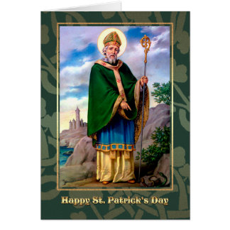 Saint Patrick's Day Blessings Religious Cards