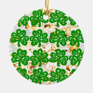 SAINT PATRICKS DAY CERAMIC ORNAMENT